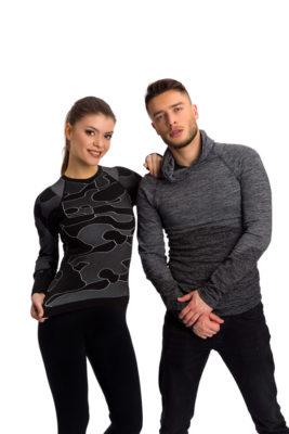 галерия безшевно облекло - мъжки и дамски термо блузи в черно