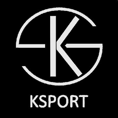 KSport лого в бяло