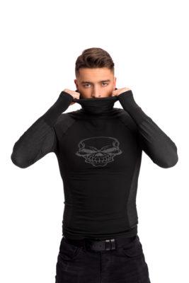 галерия безшевно облекло - мъжко термо поло черно