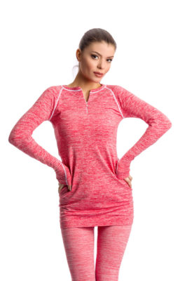 галерия безшевно облекло - дамски термо блузон с панталон