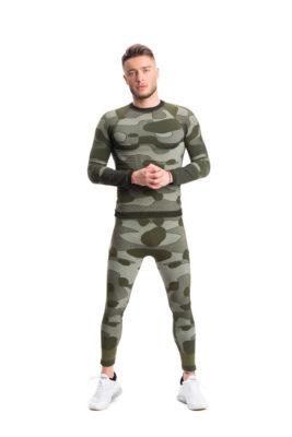 галерия безшевно облекло - пълен термо комплект - зелено комо