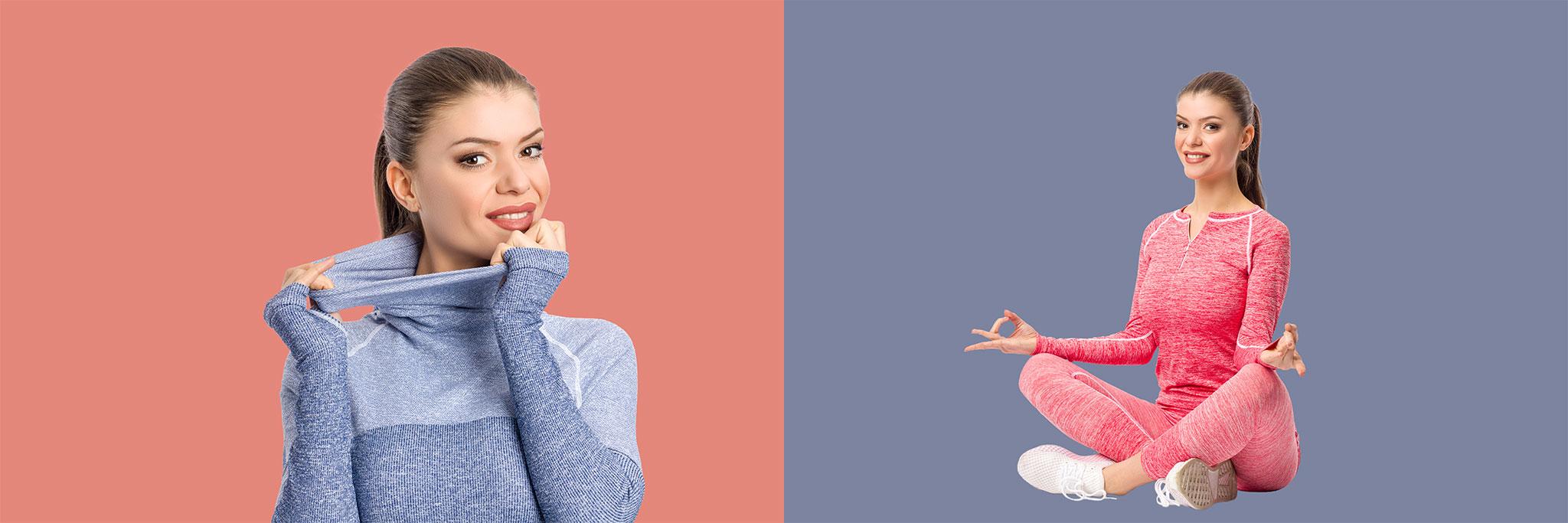 дамско термо бельо - снимка за корица