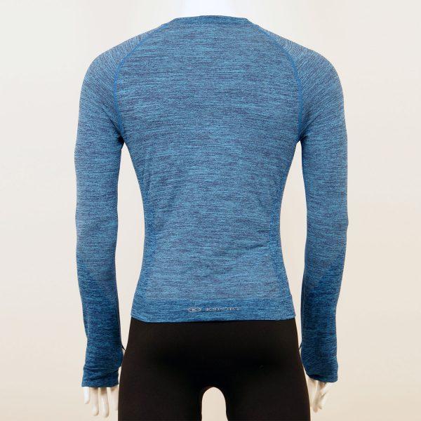 Мъжка термо блуза в син цвят марка KSport - снимка 2