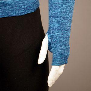 Мъжка термо блуза в син цвят марка KSport - снимка 4
