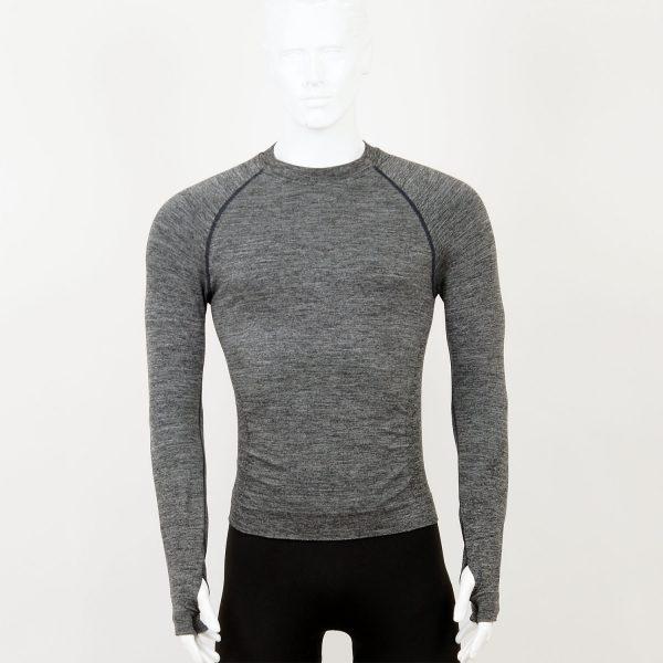 Мъжка термо блуза в сив цвят на марката KSport
