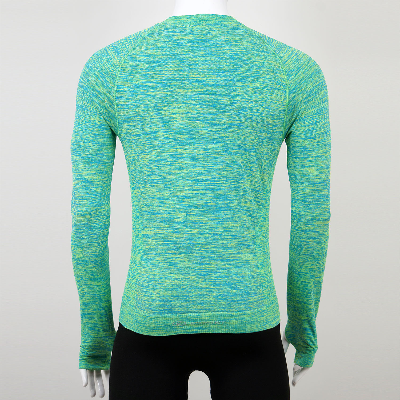 Мъжка термо блуза зелена марка KSport - снимка 2