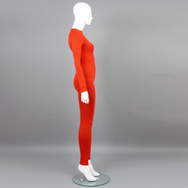 Червен комплект дамско термо бельо марка KSport - снимка 3