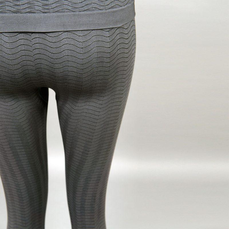 сив комплект дамско термо бельо марка KSport - снимка 5