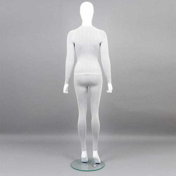 светлосив комплект дамско термо бельо марка KSport - снимка 2