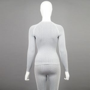 светлосив комплект дамско термо бельо марка KSport - снимка 5