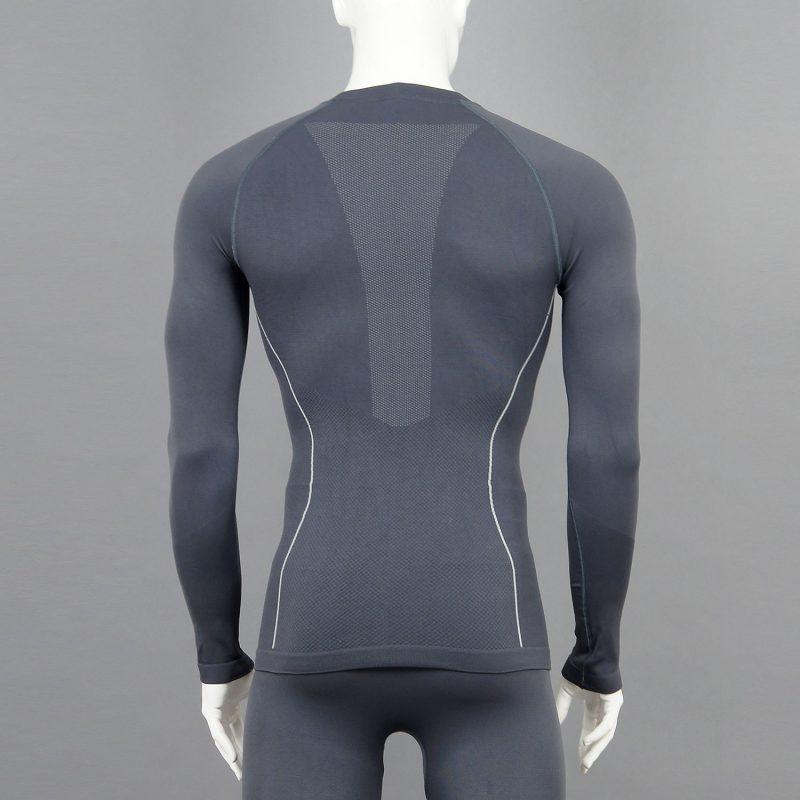 Термо бельо мъжкa блуза сива - снимка 2