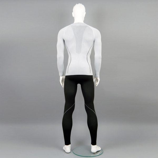 черно-бял комплект мъжко термо бельо на марката KSport - снимка 3