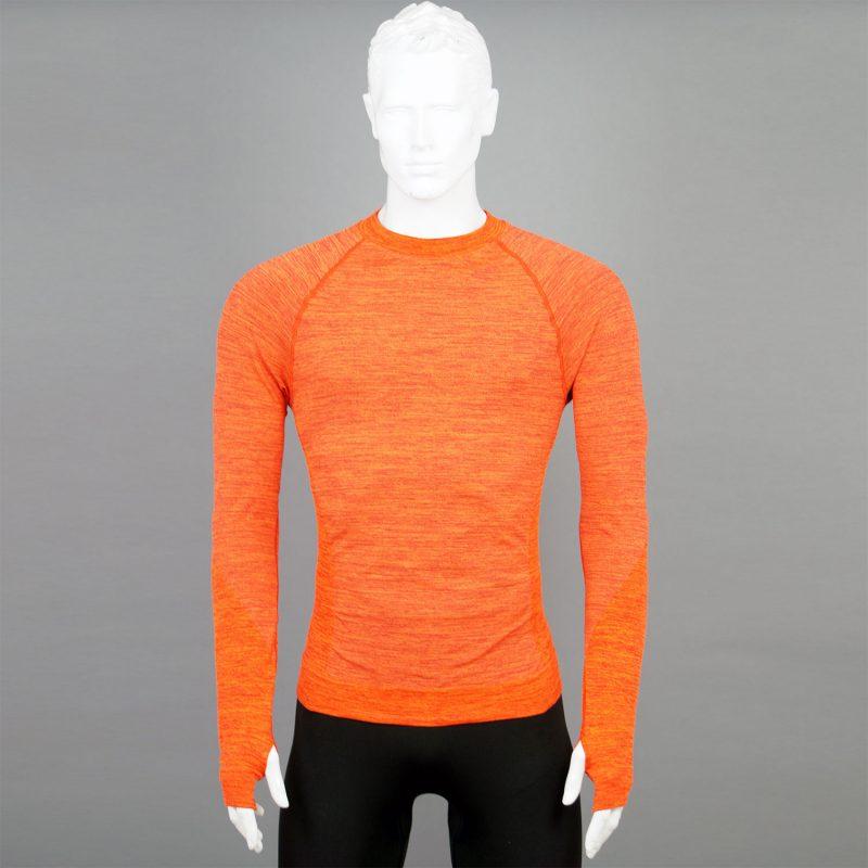 Мъжка термо блуза - оранжева - марка KSport