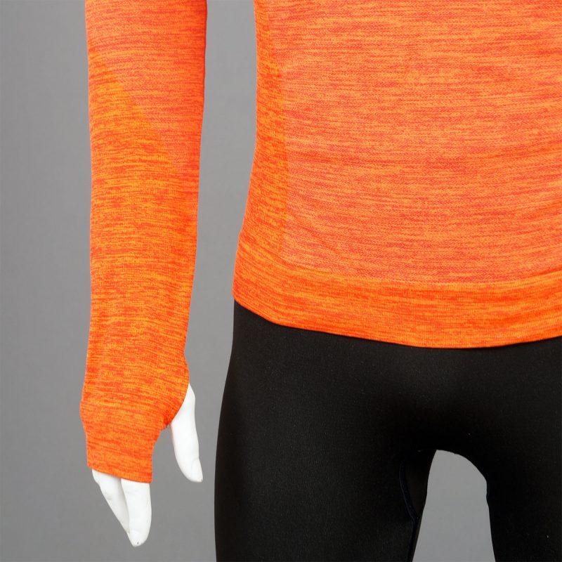 Мъжка термо блуза - оранжева - марка KSport детайл ръкав