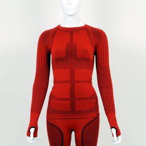 Термо блуза дамска KPROTERM червена - снимка 1