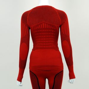 Термо блуза дамска KPROTERM червена - снимка 2