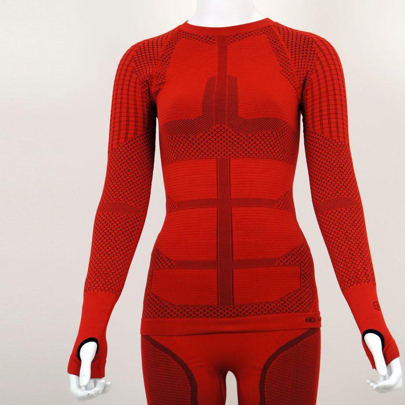 Термо блуза дамска KPROTERM червена - снимка 4