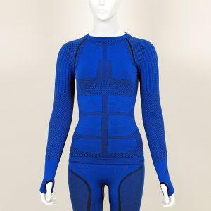 Термо блуза дамска KPROTERM синя - снимка 1