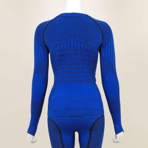 Термо блуза дамска KPROTERM синя - снимка 2