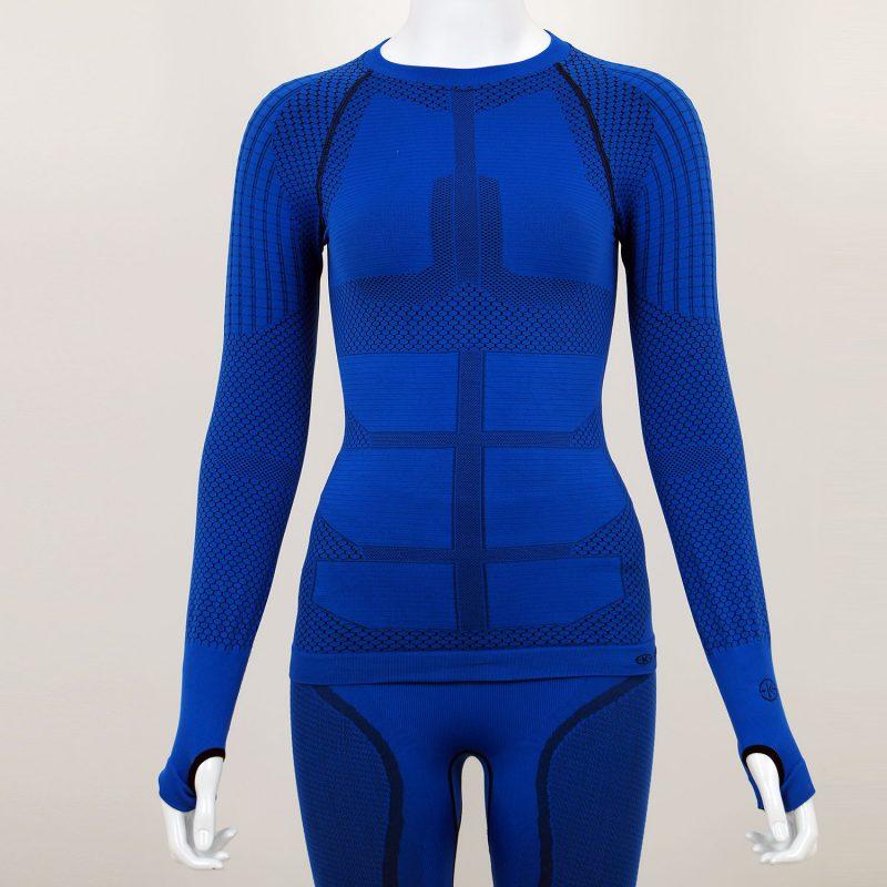 Термо блуза дамска KPROTERM синя - снимка 4