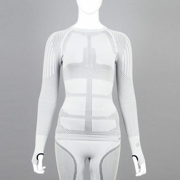 Термо блуза дамска KPROTERM светлосива - снимка 1