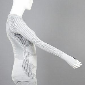 Термо блуза дамска KPROTERM светлосива - снимка 3