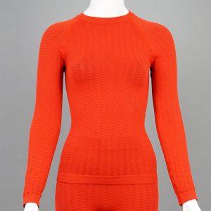 дамска термо блуза червен цвят марка KSport - снимка 1
