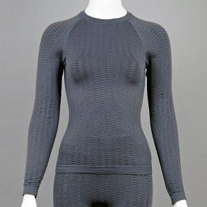 Термо блуза - дамски модел - сива - снимка 1