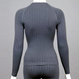 Термо блуза - дамски модел - сива - снимка 2