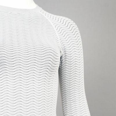 Дамска термо блуза в светлосив цвят на марката KSport - снимка 4