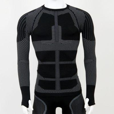 Термо блуза мъжка KPROTERM черна - снимка 1