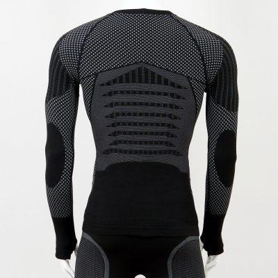 Термо блуза мъжка KPROTERM черна - снимка 2
