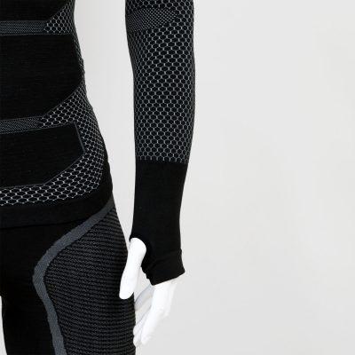 Термо блуза мъжка KPROTERM черна - снимка 4
