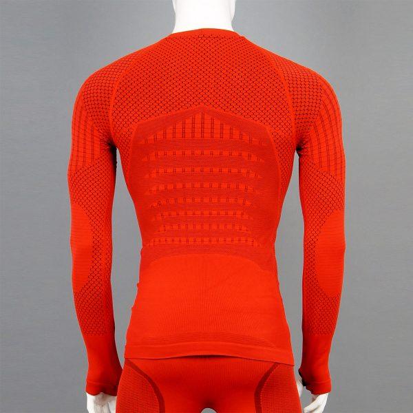 мъжка термо блуза KSport KPROTERM червен цвят - снимка 2