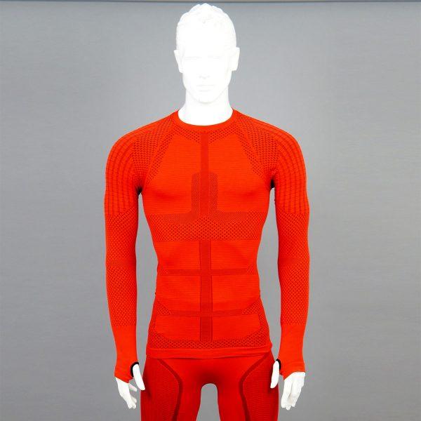 мъжка термо блуза KSport KPROTERM червен цвят - снимка 4
