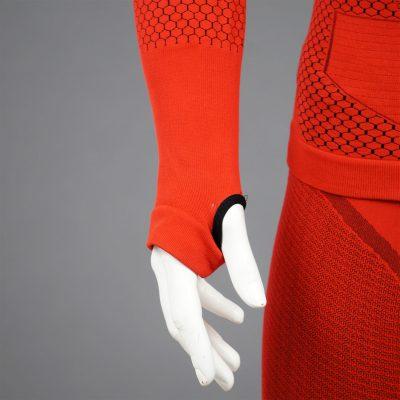 мъжка термо блуза KSport KPROTERM червен цвят - снимка 6