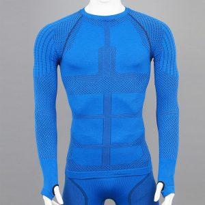 Термо блуза мъжка KPROTERM син цвят - снимка 1