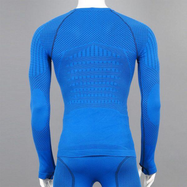 Термо блуза мъжка KPROTERM син цвят - снимка 2