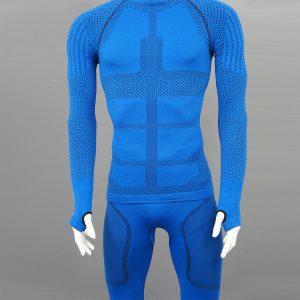 Термо блуза мъжка KPROTERM син цвят - снимка 4