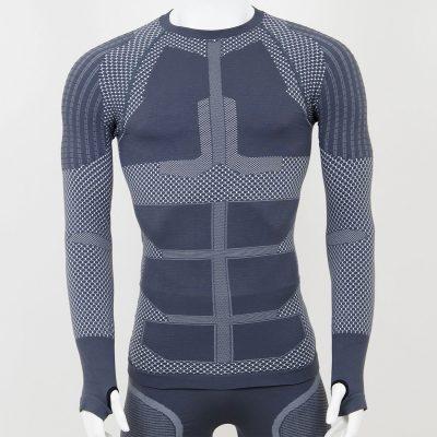 Термо блуза мъжка KPROTERM сива - снимка 1