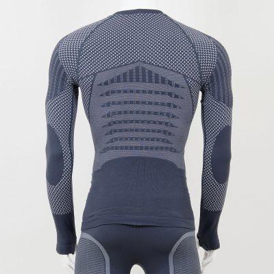Термо блуза мъжка KPROTERM сива - снимка 2