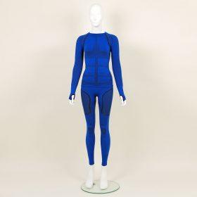 Термо комплект дамски KPROTERM син - снимка 1