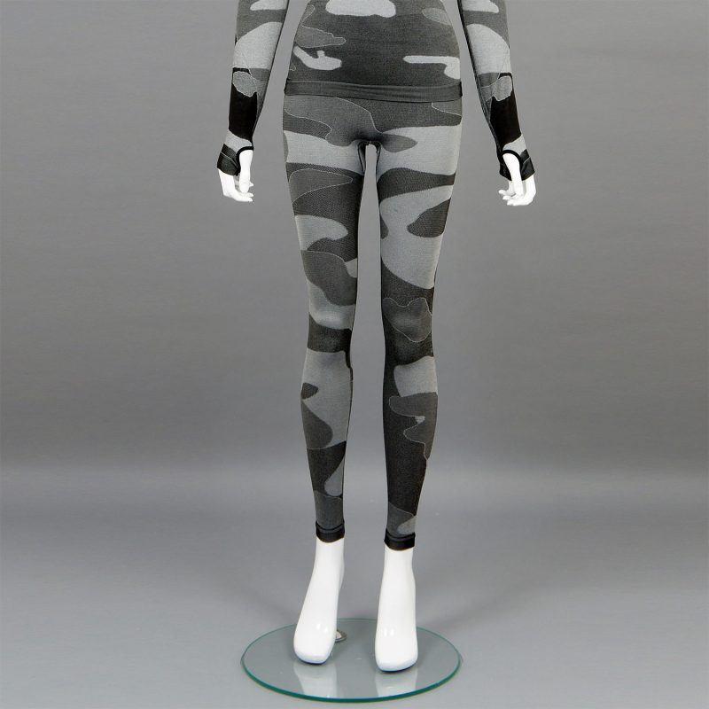 термо клин дамски цвят сив камуфлаж марка KSport - снимка 1