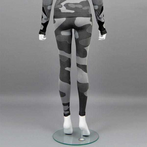 термо клин дамски цвят сив камуфлаж марка KSport - снимка 2