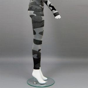 термо клин дамски цвят сив камуфлаж марка KSport - снимка 3