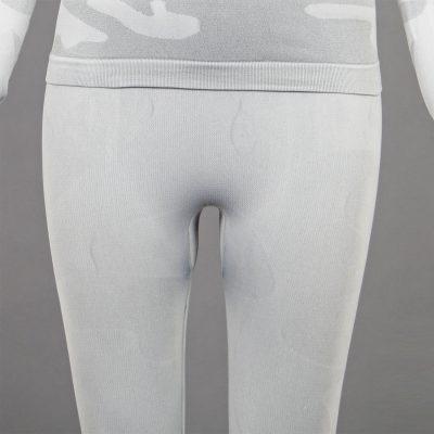 термо клин дамски цвят светлосив камуфлаж марка KSport - снимка 4