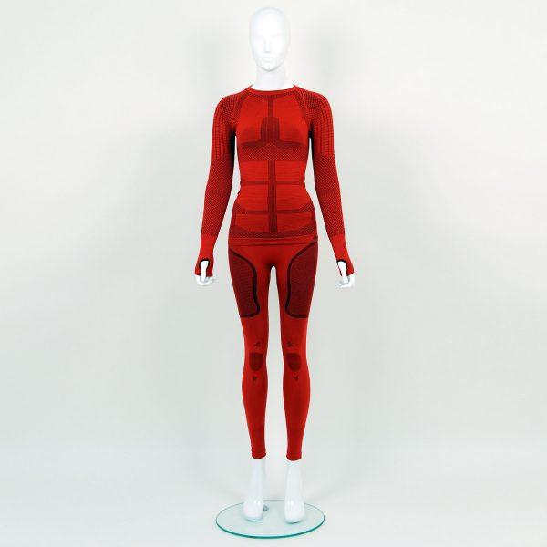 Термо комплект дамски KPROTERM червен - снимка 1