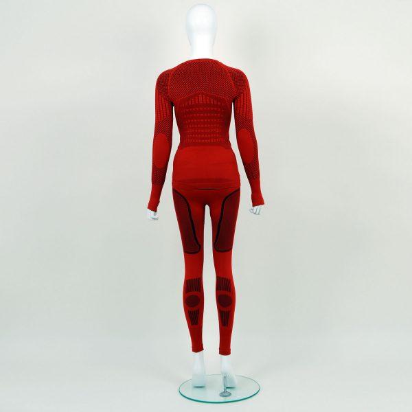 Термо комплект дамски KPROTERM червен - снимка 2