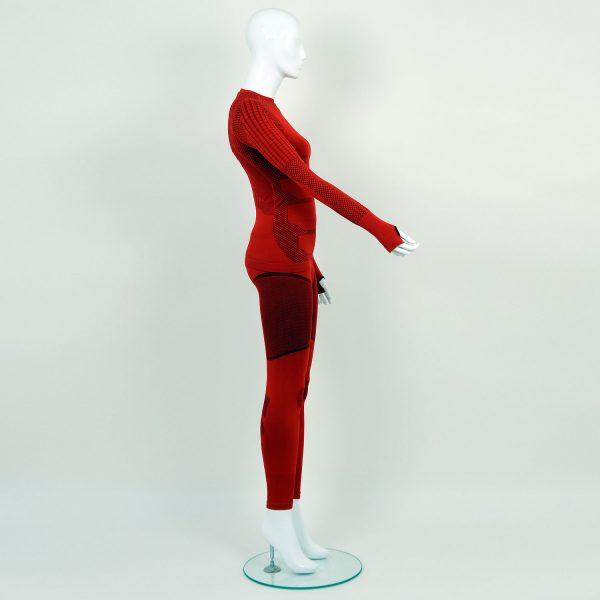 Термо комплект дамски KPROTERM червен - снимка 3