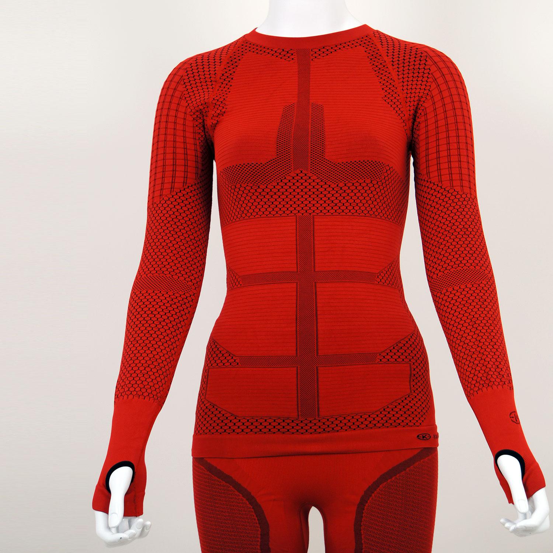 Термо комплект дамски KPROTERM червен - снимка 7